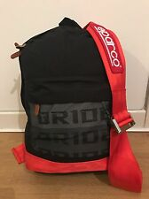 NEW JDM RED DARK BRIDE SPARCO TAKATA RECARO HARNESS BACKPACK JAP BAG GIFT 2016