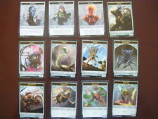 MTG Kaladesh TOKEN and EMBLEM set X4 (48 TOTAL CARDS) NEVER PLAYED