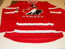 2016 World Juniors Championship Team Canada Red Jersey Player WJC IIHF Large NWT