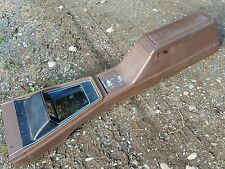 1971 1972 1973 Mustang Cougar Torino floor console OEM Ginger nice!
