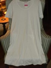 "NWT FRESH PRODUCE 100% COTTON FLATTERING ""EVE"" STYLE DRESS  IN WHITE  (XL)"