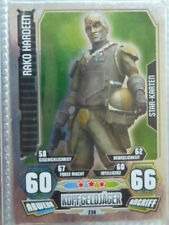 Force Attax Clone Wars 3 (2012, rot), Rako Hardeen (224), Star-Karten