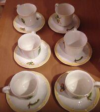 Villeroy & Boch Parkland A/D Cups - Espresso - Cups & Saucers - Set of 6