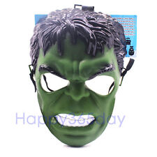 Super Hero HULK Marvel Avenger MASK Halloween Party Costume Cosplay Kid Toy