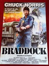 Braddock Missing in Action 3 Kinoplakat A1 Chuck Norris