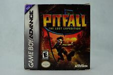 Pitfall: The Lost Expedition (Nintendo Game Boy Advance GBA 2004). *COMPLETE*
