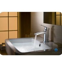 Fresca Fiora Single Hole Mount Bathroom Vanity Faucet - Chrome Finish Design