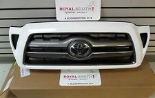 Toyota Tacoma 05-11 Super White Painted 040 Grille Genuine OEM OE