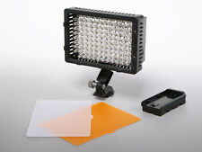 Pro LED video light for Sony PMW-100 HXR-NX30 Panasonic AG-AC130A AC160A HD