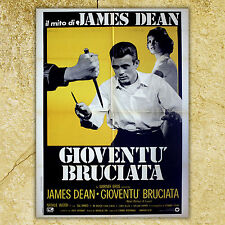 Original Poster Rebel Without a Cause - Gioventù Bruciata 100x140 CM - 1980