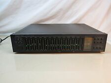 Vintage ONKYO INTEGRA Stereo Graphic Equalizer EQ-35 ~ Read Condition.
