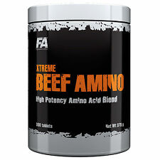 Xtreme Beef Amino 300Tablets Animal Amino Acids Protein Pills BCAA Muscle Growth
