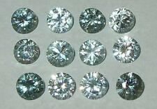 5mm Beautiful Cambodian Sky Blue Zircon Round