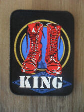 King laarzen muziek patch Sew On