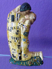 Gustav Klimt THE KISS Licensed Museum Sculpture Statue Small Size