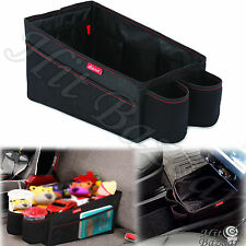 Car Storage Back Seat Organizer Cup Holder Cargo Bin Travel Truck Vehicle Caddy