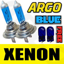 TWO XENON BLUE H7 12v SUPER BRIGHT CAR HEADLIGHT BULBS