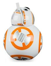 New Disney Parks Star Wars BB-8 Droid Kids Cup w/ Straw Gift The Force Awakens