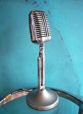 "Vintage RARE 1940's Astatic WR-40 crystal microphone old antique w ""G"" stand"