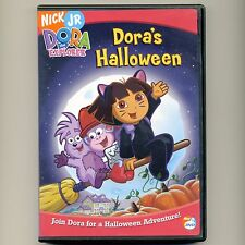 Dora's Halloween G mint DVD Nick Jr. PBS 4 episodes Boots, wizard, troll, witch