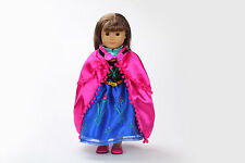 2015 Handmade fashion clothes dress for 18inch American girl doll party b120
