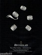 PUBLICITE ADVERTISING 096  2012  Buccellati  joaillier