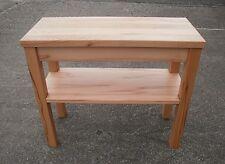 Holztisch,Beistelltisch Kernbuche massiv  . Maßanfertigung !