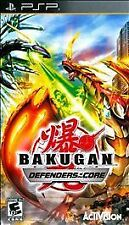Bakugan Defenders of the Core UMD PSP GAME SONY PLAYSTATION PORTABLE