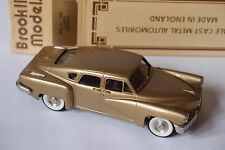 BROOKLIN BRK 2A 1948 TUCKER TORPEDO 1/43