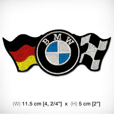 New BMW Embroidered Patch Iron On Decorate Top Class Car RACING Sports MOTOR