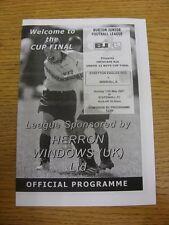 13/05/2007 Burton Junior League U13 Cup Final: Streeton Eagles Red v Winshill A