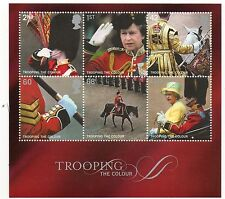GB 2005 Trooping the Colour unmounted mint mini / miniature sheet MNH m/s stamps