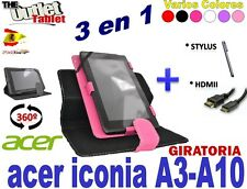 PACK 3 EN 1 PARA TABLET ACER ICONA A3-A10 10.1 + MICRO-HDMI-hDMI + STYLUS