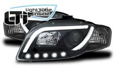 Fari Anteriori Dayline Daylight LTI CCFL Light Tube Audi A4 B7 04- 08 Neri