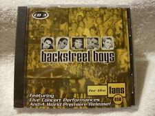 CD 3 BACKSTREET BOYS CD FOR THE FANS BSB / COLLECTIBLE / RARE / NEW / SEALED