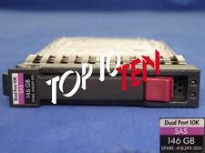 "HP 418399-001 ProLiant g1-g7 146gb 2,5"" 10k SAS 3g DP HDD Disco Rigido 418367-b21"