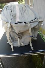 Bergans Hiking Pack External Frame Canvas And Leather Oslo Norway