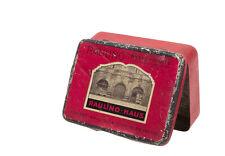 RAULINO BESTE SORTE, Tabak Feinschnitt, orig. Reklame-Dose um 1920-30