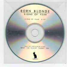 (FE851) Born Blonde, Signs of Fear - 2012 DJ CD