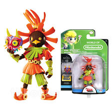 "4"" SKULL KID figure LEGEND OF ZELDA world nintendo MAJORA'S MASK jakks pacific"