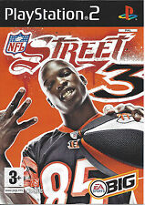 NFL STREET 3 for Playstation 2 PS2 - PAL