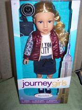 "Journey Girls Meredith 18"" Doll in NEW YORK CITY Shirt & Skirt Outfit New"