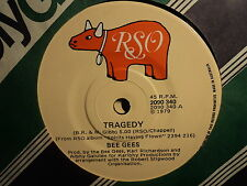 """Bee Gees """"Tragedy"""" Smash SPRITS Hit Oz 7"""""""