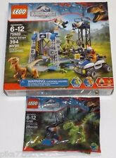 Lego RAPTOR ESCAPE & Gallimimus Trap 75920 30320 Jurassic World Exclusive Echo