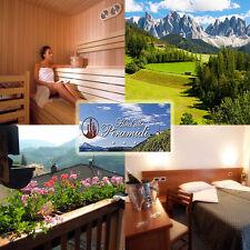 Wellness 7 días de vacaciones con domiciliada en el Tirol del Sur en el 3 * hotel todos piramidi