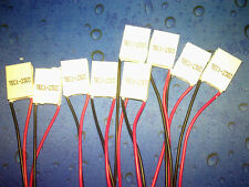 10pcs mini 15*20MM TEC1-02303 Thermoelectric Cooler Peltier Plate 2.8V 3A 4.8W