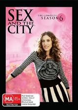 Sex And The City : Season 6 (DVD, 2006, 5-Disc Set)