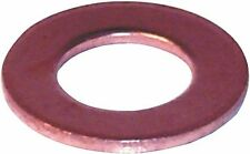 FLAT COPPER WASHER METRIC 6 X 10 X 1MM QTY 100