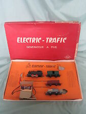AB456 JOUEF COFFRET ELECTRIC TRAFIC TRAIN LOCOMOTIVE HO GENERATEUR ELECTRIQUE
