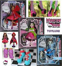 Monster High Story SCARY TALES 3 Fairy Doll Set RARE Frankie Draculaura Clawdeen